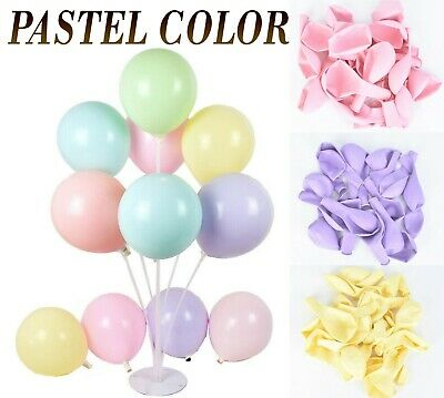 5/10 inch Mini Jumbo Giant Big Large Macaron Pastel Candy Balloons Arch Wall