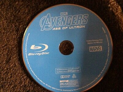 Avengers Age of Ultron MARVEL Blu ray DISC ONLY REGION FREE US IMPORT