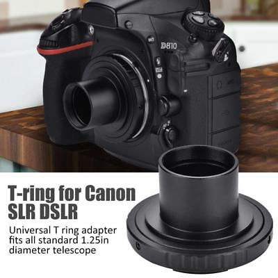 Astronomical Telescope Camera Mount Adapter 1.25inch T Ring for Canon SLR DSLR A