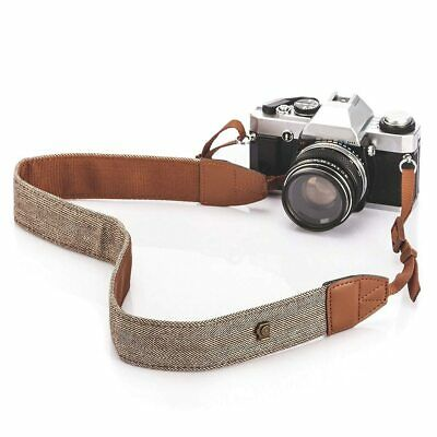 Universal Color Stripes Soft Camera Neck Straps Shoulder Strap Belt GripV