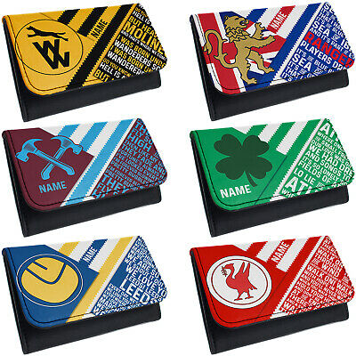 Retro Football Tobacco Pouch Baccy Wallet Christmas Gift Personalised ALL TEAMS