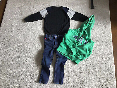 Clothes Bundle Next Gap Boys 3-4 Years . Top Jeans Hoodie. Lovely Condition