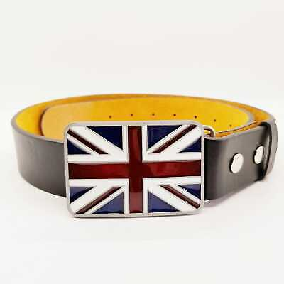 Union Jack England Flag Belt Buckle Bling Biker Patriotic English British