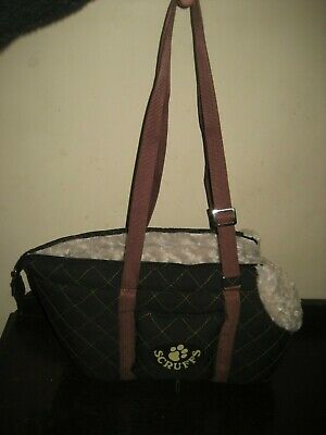 New Scruffs Wilton Pet Carrier, , Brown with handles and water bowl