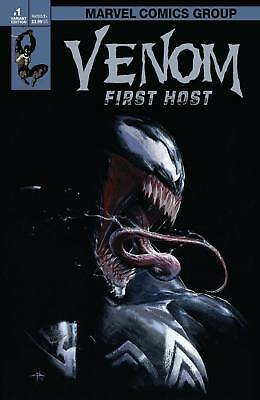VENOM 1ST HOST VF Variant Cover Dell'Otto LIMITED RUN OF 3000 1st TEL-KAR HARDY