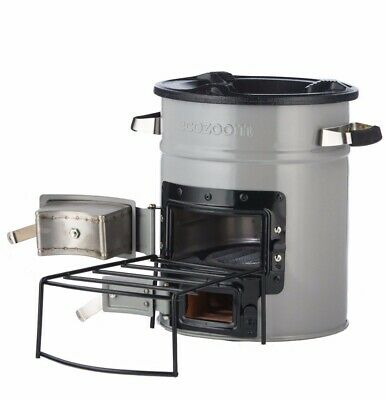 EcoZoom Versa Rocket Cookstove - Wood, Charcoal or Biomass Fuel
