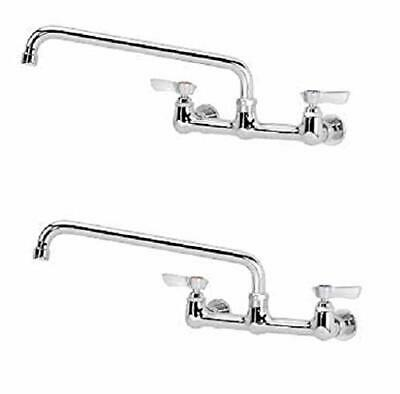 "Krowne 8"" Center Wall Mount Faucet 12"" Spout"