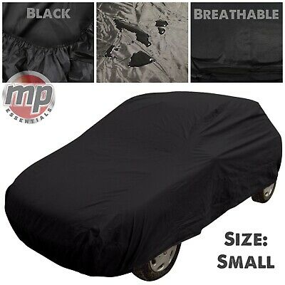 Black Indoor & Outdoor Breathable Full Car Cover to fit Vauxhall Corsa 1994-2014