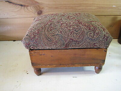 Antique Wooden Foot Stool  B1309