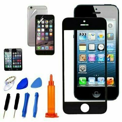 Replacement Front Screen Glass Lens LOCA UV Glue Repair Tools Kit For iPhone 7