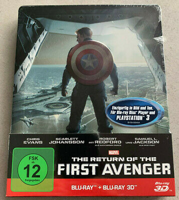 Marvel Captain America The Return of the First Avenger Steelbook [Blu-ray + 3D]