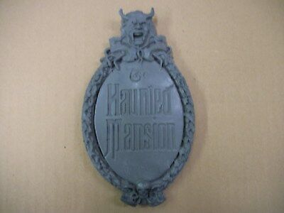 Disney Parks Mini Haunted Madison Sign Disneyland WDW Attraction Prop