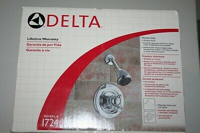 Delta Monitor Shower Faucet Single-Handle Lever With Valve New Old Stock
