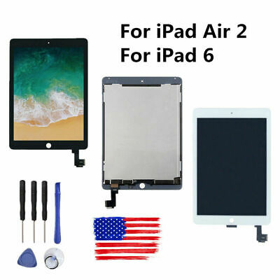 For iPad Air 2 A1566 A1567 LCD Digitizer Display Touch Screen Panel Assembly New