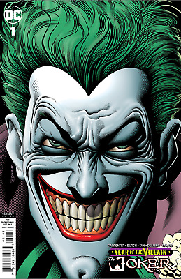 JOKER YEAR OF THE VILLAIN 1 Retailer Variant NM — DC Comics 1st Print Bolland