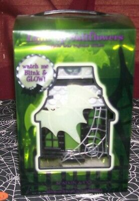 "Wallflower ""Haunted House"" Plug In Diffuser/ Blinking Lights/ Glow-In-Dark Bats"