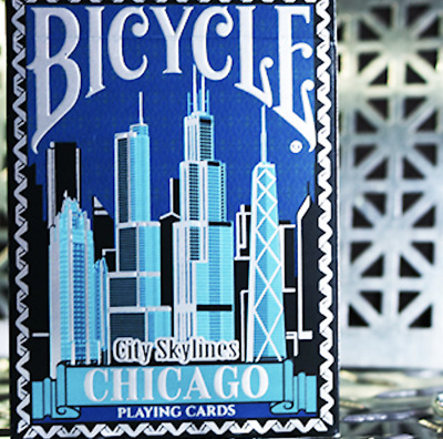 Limited Edition Bicycle City Skylines (Chicago) - LIMITED