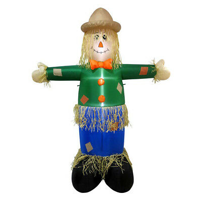 """6' Scarecrow Lighted Airblown Inflatable Outdoor Yard Halloween Decoration 72"""""""
