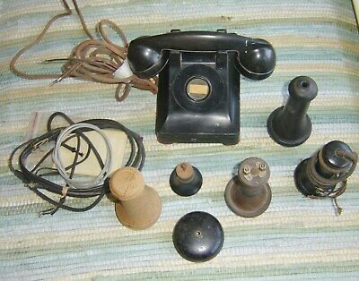 Lot Of Vintage Telephone Parts As Is Lot # 2