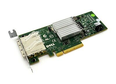 Dell Perc H200E 2 Port Sas 6Gbs Hba Raid Controller Card 3Ddjt Hkcvw Low Profile