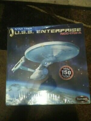2005 Polar Lights Star Trek USS Enterprise NCC-1701-A Model Kit NEW,SEALED