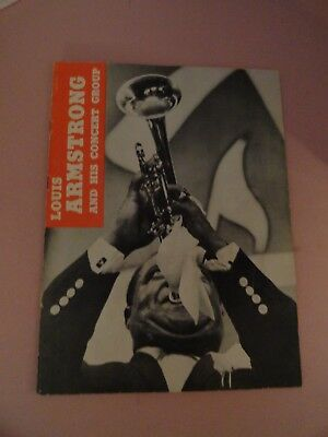 Louis Armstrong - 2 Signed Photos Autographs In 1950'S Concert Program Plus More