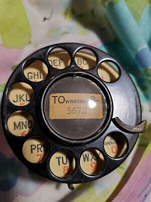 Number 4 Western Electric Telephone Dial