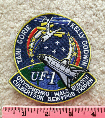 NASA Space Shuttle Mission STS-108 > Astronauts embroidered patch