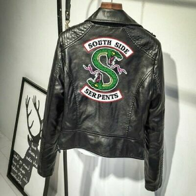 New Southside Serpents Riverdale Women's Leather Jacket Print