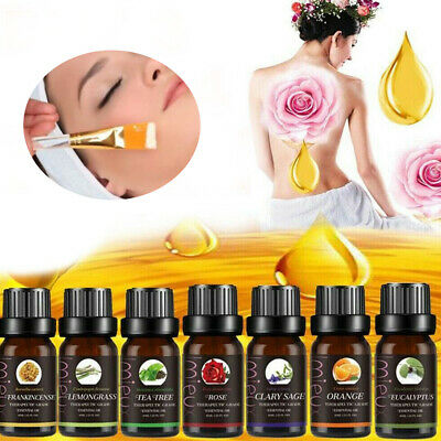 HOT SALE 10ml Aromatherapy Essential Oils Natural Pure Organic Oil Fragrances UK