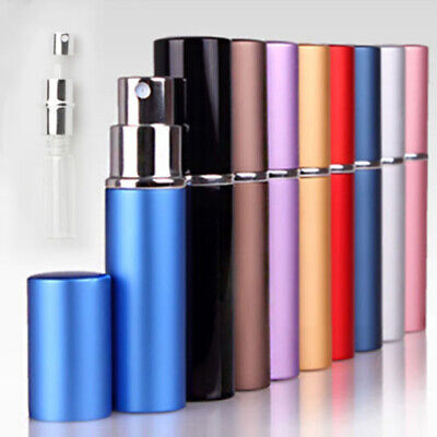 3x 6ml Mini Easy Refillable Bottle Travel Perfume Aftershave Atomiser Pump Spray