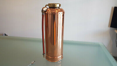 Vintage Fire Extinguisher All Polished And Ready. One Of The Best. Look !