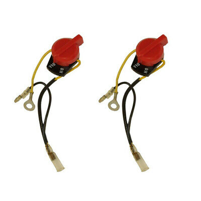 Stop On//Off Switch With Two Wire For Honda GX110 GX120 GX140 GX160 Practical