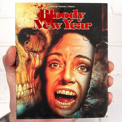 Bloody New Year - Blu-ray - Inc. Limited Edition Slipcover - Vinegar Syndrome