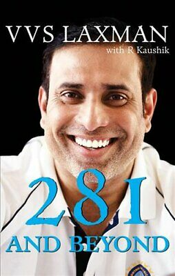 281 and Beyond by VVS Laxman 9789387894402 | Brand New | Free UK Shipping