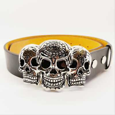Day of the Dead Belt Buckle Candy Skull dia de Muertos halloween Biker