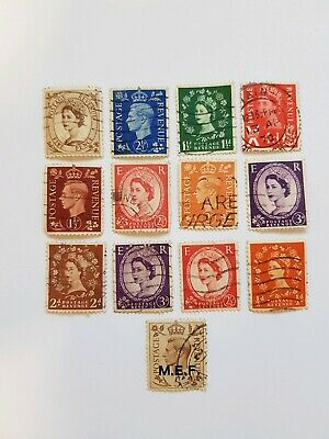 Old Antique Stamp Collection. Good Condition. Queen Elizabeth? King George?