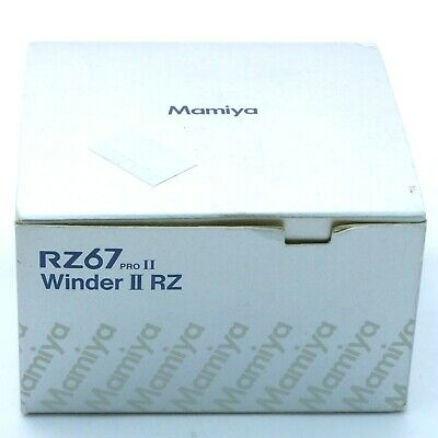 Mamiya RZ67 Pro II Winder, boxed, excellent + condition (18782)