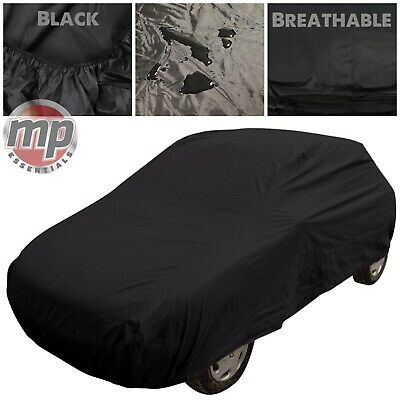 Black Indoor & Outdoor Breathable Full Car Cover to fit BMW Z3 Roadster & Coupe