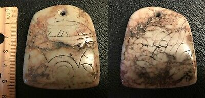 Rare Pre-Columbian  Pendant, Mexico,(Ojuelos) 5-7 thousand years