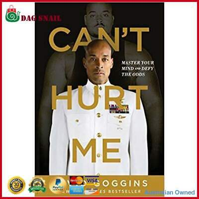 Cant Hurt Me: Master Your Mind And Defy The Odds (Hardcover) FREE FAST POSTAGE