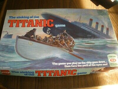 The Sinking Of The Titanic Game Ideal Complete 1976