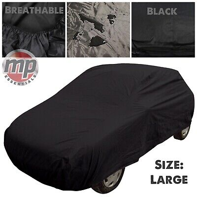 Black Indoor & Outdoor Breathable Full Car Cover to fit Toyota Celica & Supra