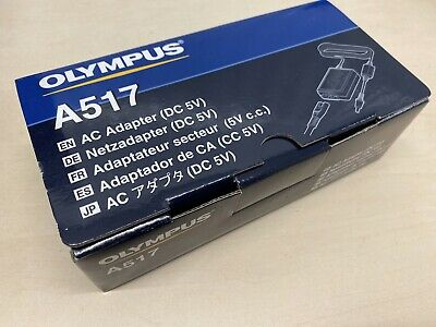 Olympus A-517 AC Power Adapter for Olympus DS-5000, DS-5500, DS-7000, LS-11