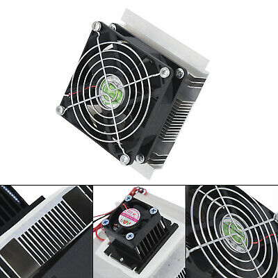 12V 60W Thermoelectric Peltier Refrigeration Cooling Cooler System Heatsink Part