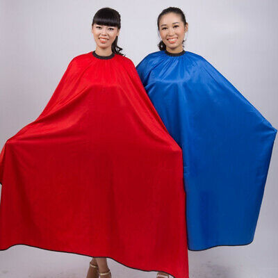 PW_ Barber Salon Gown Cape Hairdresser Hair Cutting Waterproof Cloth Tool Wide