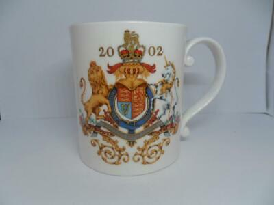 The Royal Collection 2002 Golden Jubilee HM The Queen Bournemouth Collectors Mug