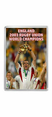 2003 RUGBY WORLD CUP FINAL ENGLAND WINNERS Fridge Magnet