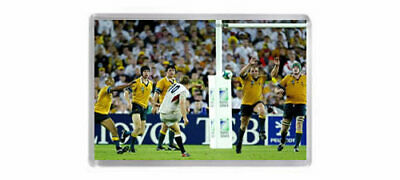 2003 RUGBY WORLD CUP FINAL JOHNNY WILKINSON WINNING DROP GOAL Fridge Magnet