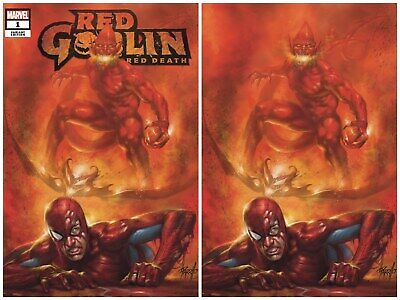 Red Goblin Red Death 1 Parrillo Rare Variant Hot New Series Presale With Coa Nm